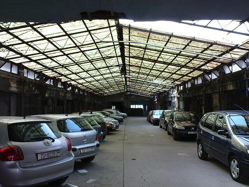 coches en los talleres